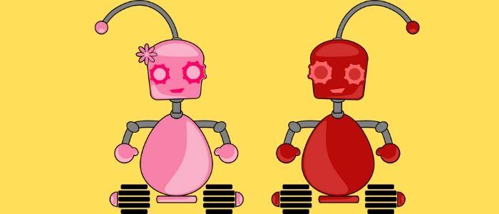ロボットとAIのイメージ
