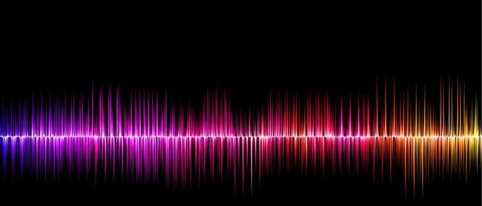 音声を分析するイメージ