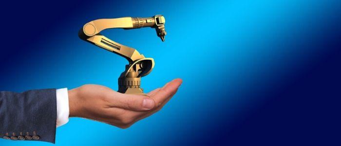 働くロボットのイメージ