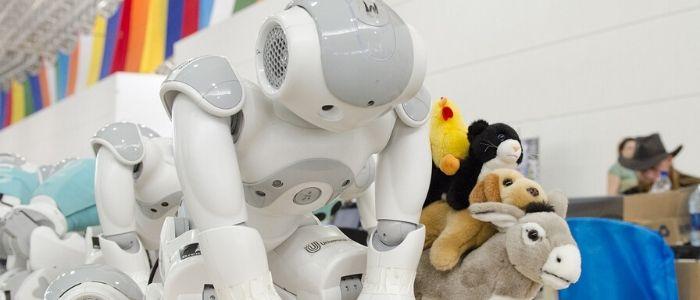 ロボットおもちゃのイメージ