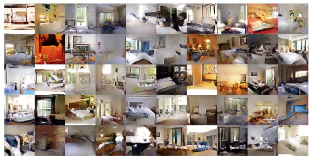 DCGANによる寝室画像生成