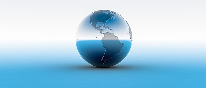 未来の地球のイメージ