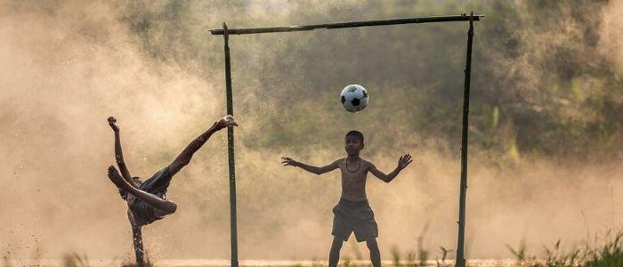 子供とスポーツのイメージ
