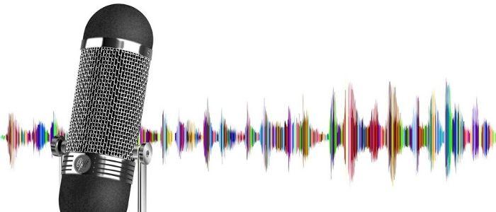 声紋認証のイメージ