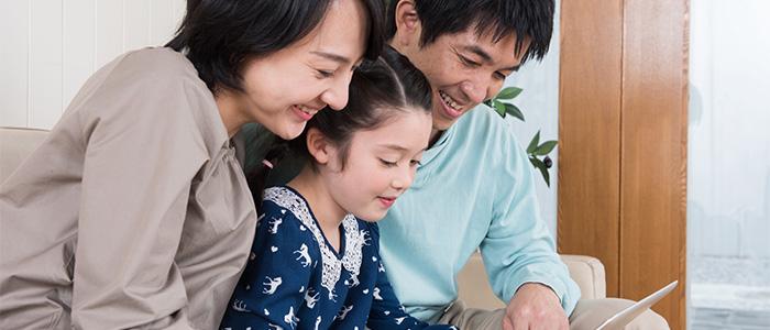家庭でのプログラミングのイメージ