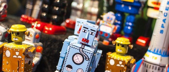 おもちゃロボットのイメージ