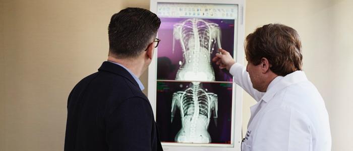 医療画像判定のイメージ