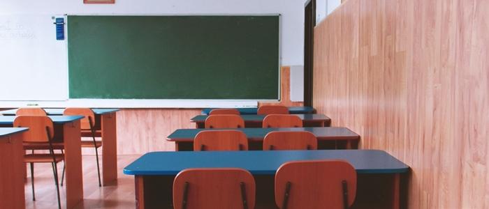 誰もいない教室のイメージ