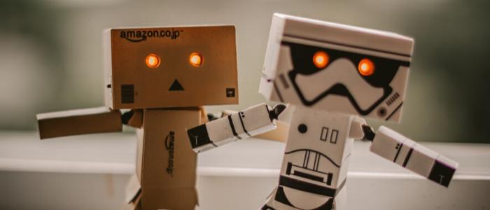 人間みたいなロボットのイメージ