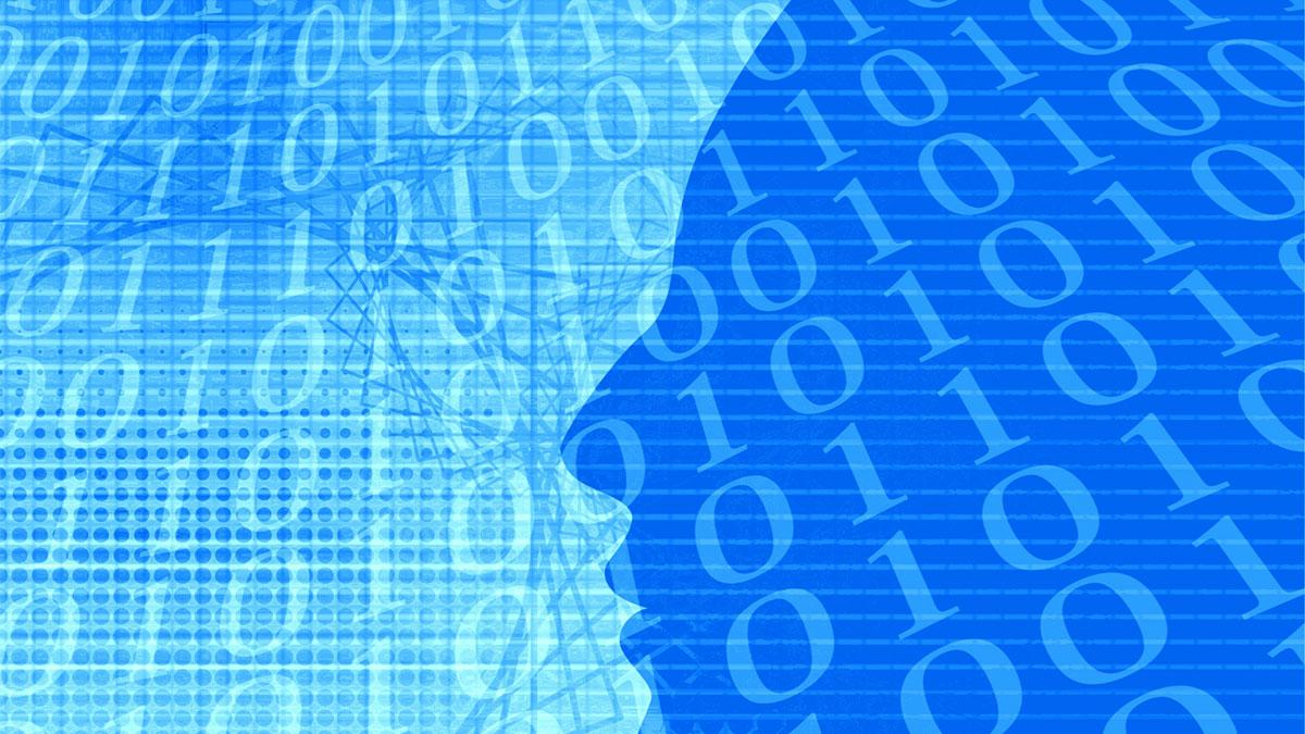 AIとビッグデータのイメージ