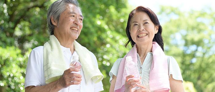 健康的な年配のイメージ
