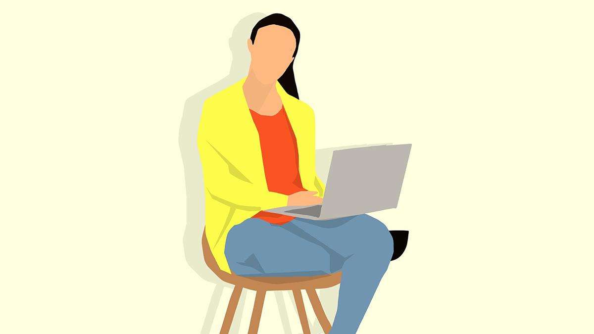 Python学ぶ人のイメージ
