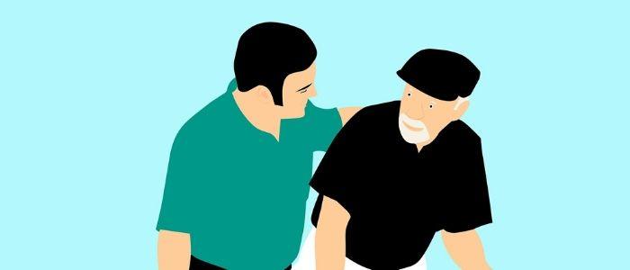 高齢化社会のイメージ