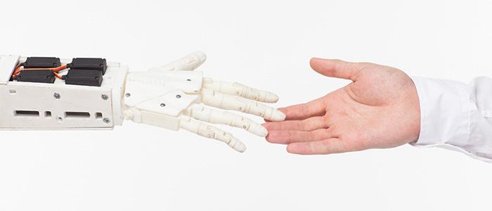 介護ロボットのイメージ