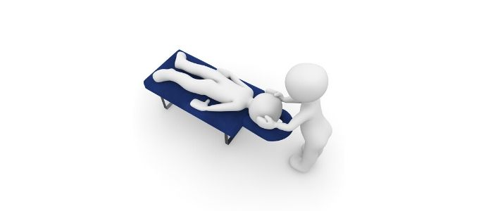 姿勢の診断のイメージ