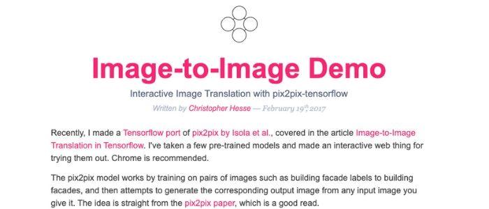 Image-to-image Demo