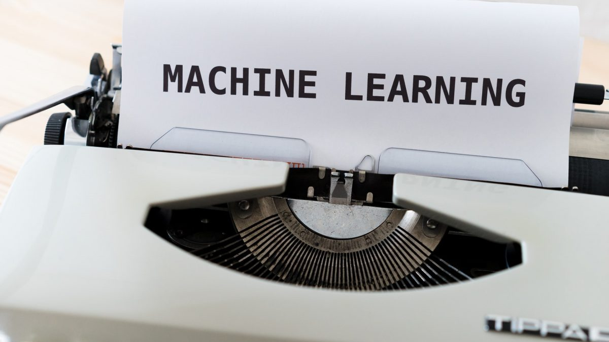 機械学習と明記