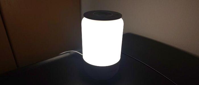 実際にランプをつけたイメージ