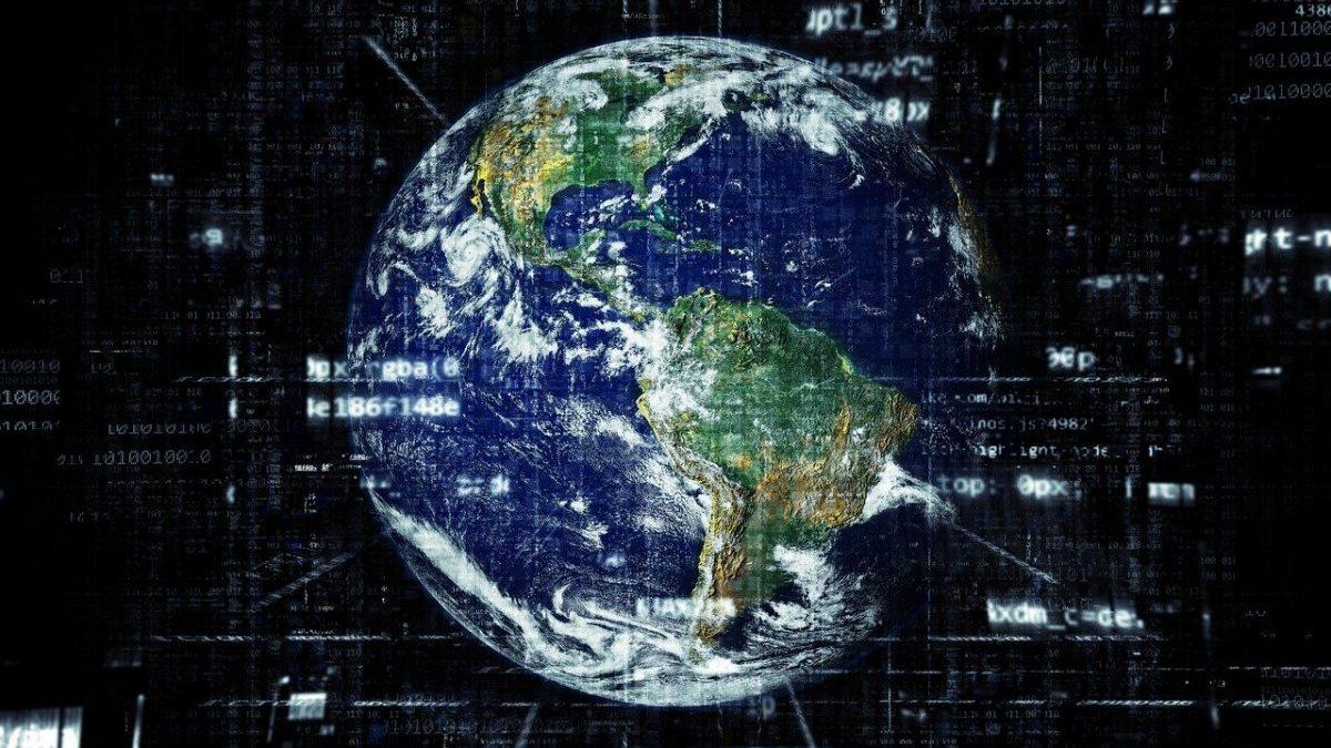 デジタル化された世界のイメージ