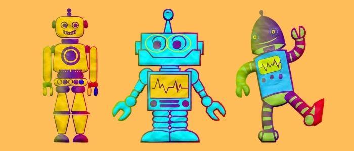 万能なロボットのイメージ