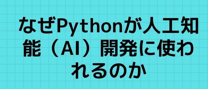 Pythoの理由のイメージ
