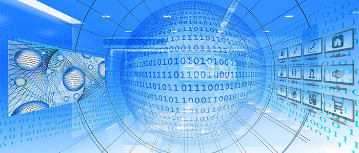 ERPと基幹システムのイメージ