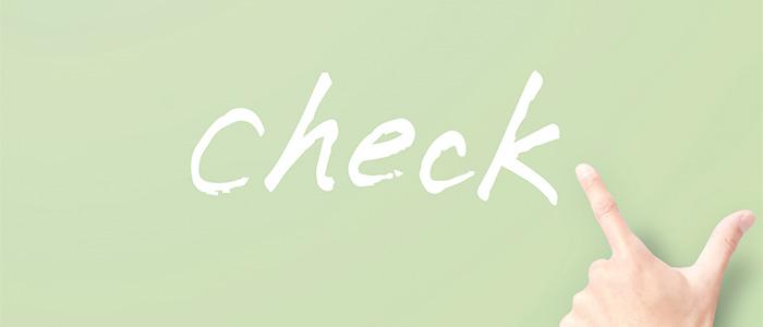 checkのイメージ
