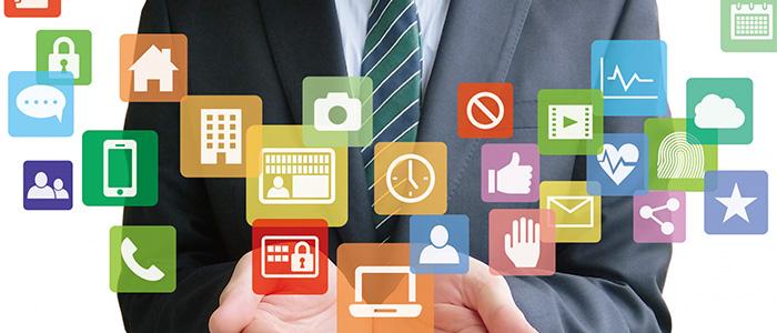 社内システムのイメージ