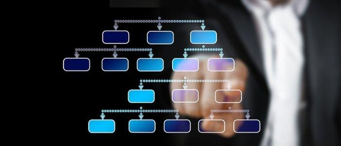 工場のデジタル化のイメージ