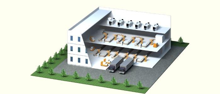 自動倉庫のイメージ