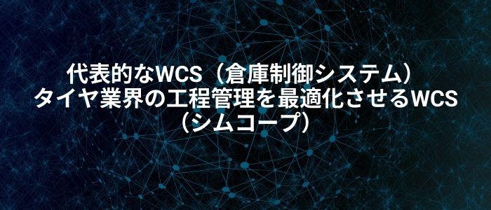 WCSの代表的なイメージ