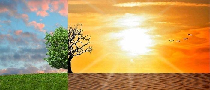 地球温暖化のイメージ