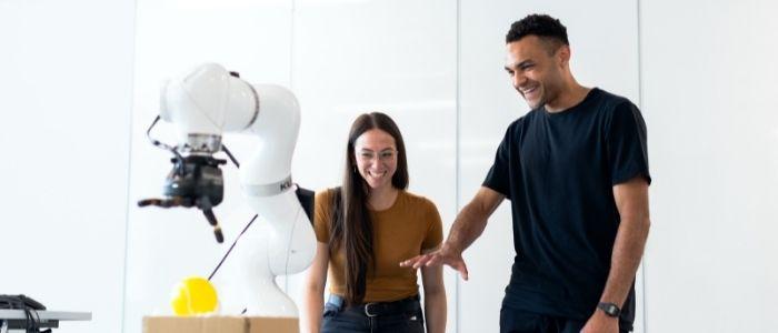 ロボットの種類のイメージ