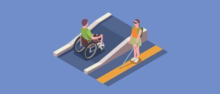 歩く訓練のイメージ
